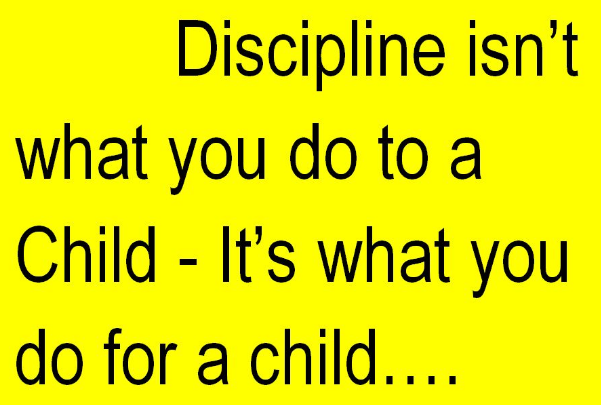 tips to discipline your child